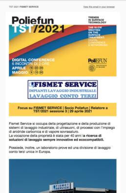 TST/2021 Fismet Service
