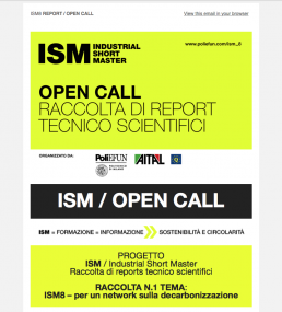 ISM8 open call